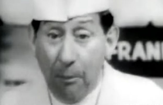 Cracker Jack 1960s theme song with YouTube link to Jack Gilford commercial